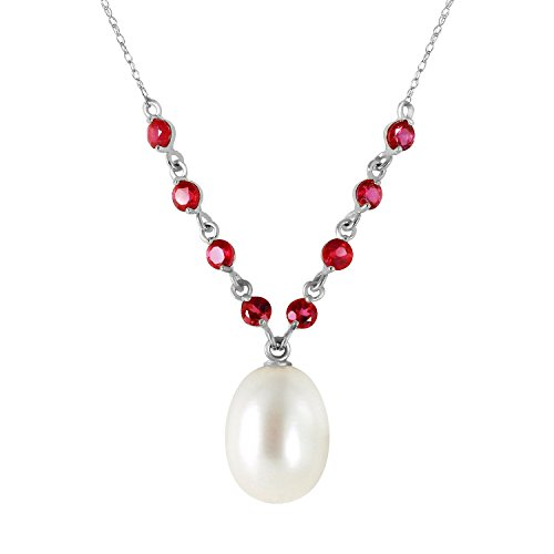 5-Carat-14k-Solid-White-Gold-Necklace-with-Natural-Rubies-and-Freshwater-cultured-Pearl-Pendant