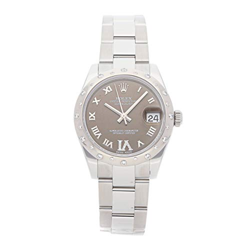 Scattered Diamond Watch - Rolex Datejust Mechanical (Automatic) Bronze Dial Womens Watch 178344 (Certified Pre-Owned)