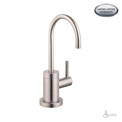 Hansgrohe 04301800 S Beverage Faucet, Steel Optik