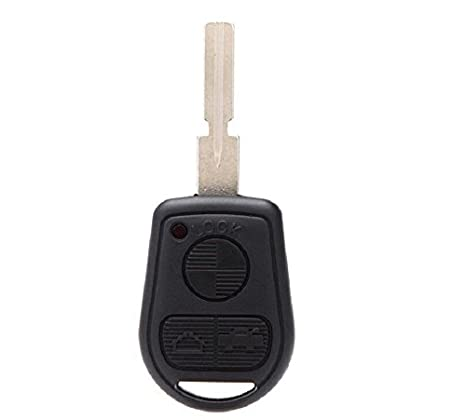 New Keyless Repair Uncut Entry Remote Key Fob Shell Case replacement fit for BMW Mini Cooper S R50 Black Keyless Professor