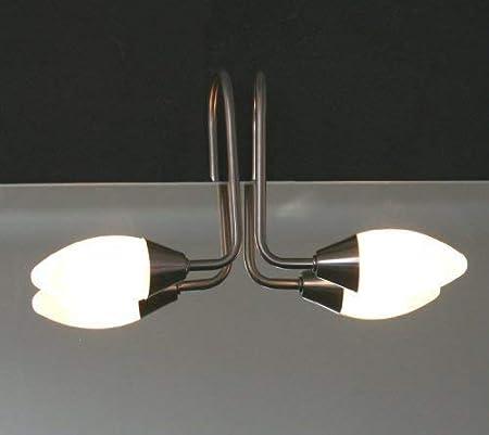 Halogenlampe Küche | Dynamic24 Halogen Glas Spigelleuchte Lampe Spiegel Spiegellampe
