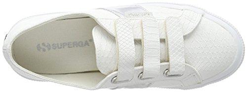 Blanc S900 Femme Baskets Pusnake3strapw Superga white 2750 1I4CqCxwp