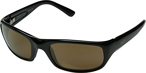 Maui Jim Stingray Sunglasses,Gloss Black Frame/HCL Bronze Lens,one - Jim Maui Stingray