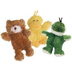 - Kong Low Stuffing with Squeaker Dog Toy Size:XSmall Type:3 animals