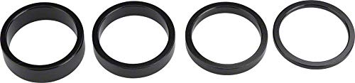 Wheels Manufacturing Headset Spacer Set (4-Piece), 1 1/8-Inch