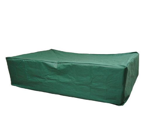 outsunny outdoor sofa sectional furniture set cover green