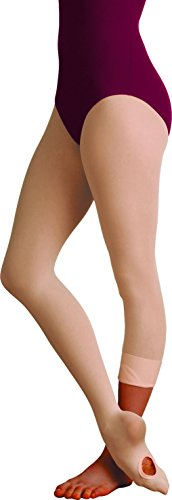 - Body Wrappers Women's Total Strech Convertible Tights - A31, Jazzy Tan, Small/Medium