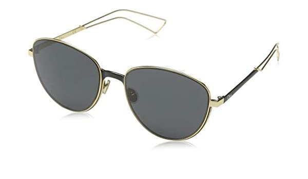 4a0876c88340 Christian Dior Ultradior S Sunglasses Matte Black Gold Gray at Amazon Men s  Clothing store