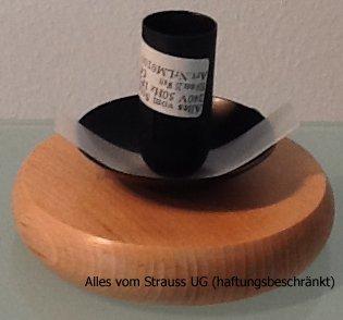 Support Lampe Oeuf D Autruche Pour Strausseneilampen 5 Cm De Bois