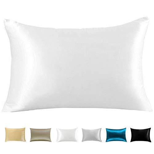 Amazon Com Wonwo Silk Pillowcase 100 Natural Mulberry