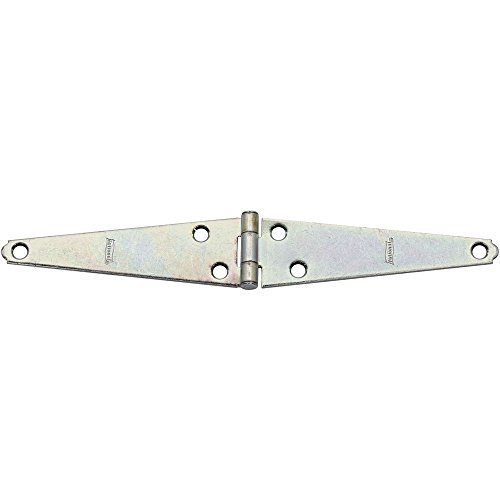 - National Hardware N127-597 280BC Light Strap Hinge in Zinc plated