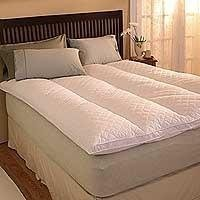 Pacific Coast Euro Rest Feather Bed King 76x80 Inch by Pacific ()