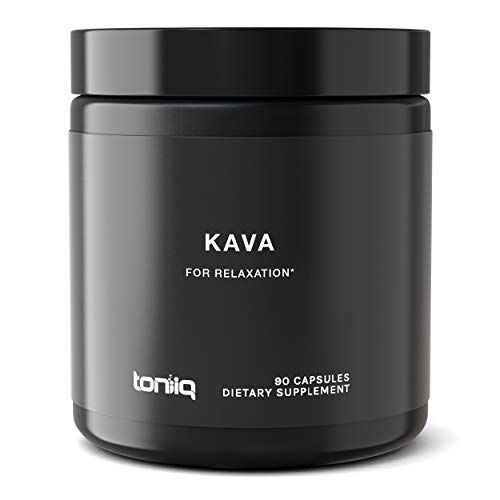 Triple Strength Polynesian Kava Kava Capsules - 30% Kavalactones - The Strongest Kava Supplement Available - 600 mg - Optimal Support for Anti-Anxiety and Stress-Relief - 90 Veggie Capsules (Kava Pills Kava)