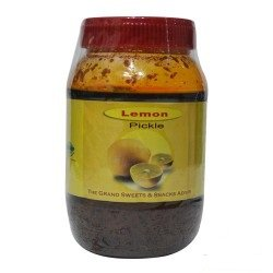 The Grand Sweets Lemon Pickle- 400 Grams by Grand Sweets
