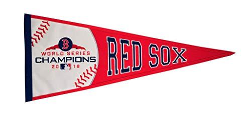 (Winning Streak Boston Red Sox 2018 World Series Champions Commemorative Pennant)