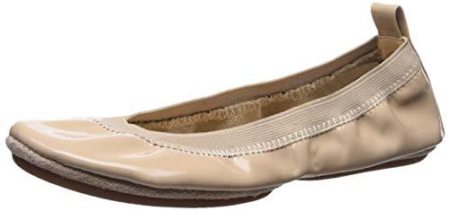 Yosi Samra Women's Samara Ballet Flat, Blush Patent, 5 M US
