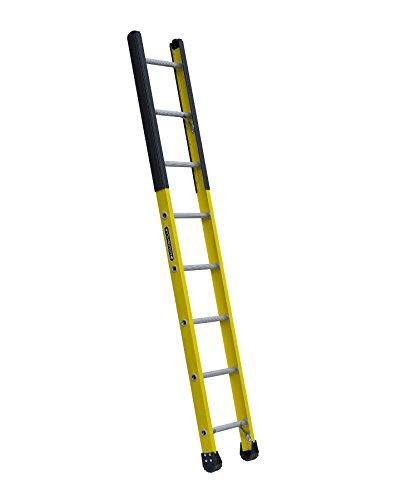 8908 Fiberglass Manhole Ladder, 375-Pound Duty Rating, Type Iaa, 8-Foot, Yellow (Manhole Ladder)