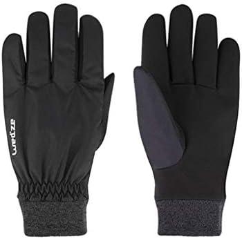 手袋 サイクリンググローブ防水赤黒スキーに適した暖かい冬の手袋 LMMSP (Color : Black, Size : XL)