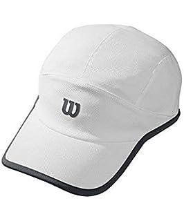 Wilson M Rush Stretch Gorra de Tenis, Hombre, Azul (Deep Water Wil ...