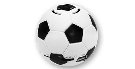 Radio/Altavoz/MP3 + MP4 Reproductor de fútbol (1 pieza), con USB y ...