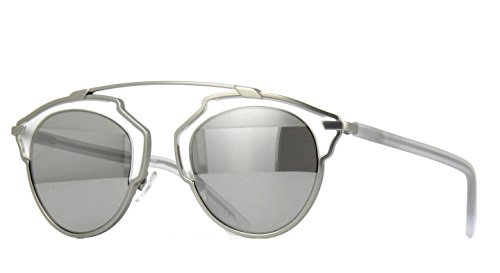 New Christian Dior SO REAL RMR/LR Matte Silver Crystal/Silver - So Dior Real Sunglasses Christian