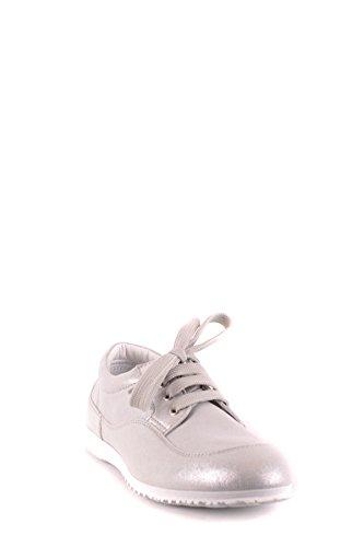 Hogan Lady Mcbi148416o Sneakers In Pelle Silber