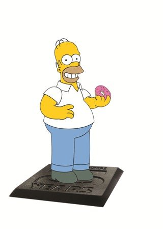 "Simpsons The Homer with Donut 2.75"" PVC Action Figure"
