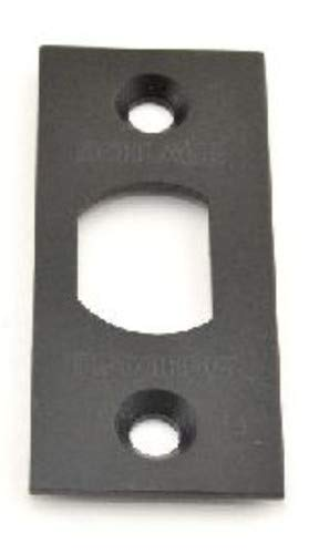 Schlage F206-476 Square Spring Latch Faceplate, Aged Bronze