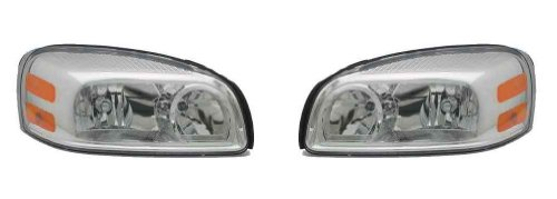 Chevrolet Uplander Replacement - Chevy Uplander Replacement Headlight Assembly - 1-Pair