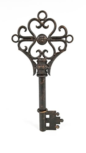 Black & Gold Metal Key - Key Wall Decor
