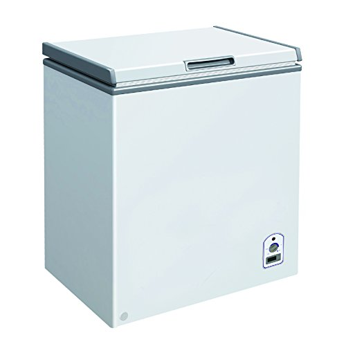 DUURA DVCF7.1 Solid Chest Freezer, White