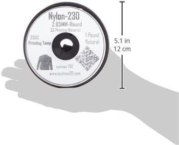 Taulman 3d de impresión filamento Nylon 230 – 2.85 mm – 450 g ...