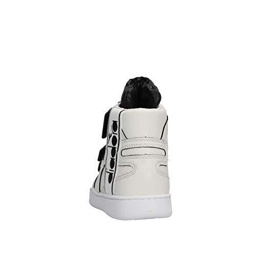 Tape Mod Scarpa nero Diadora Uomo Bianco Basket Mi Bianco XS7wxRqxPO