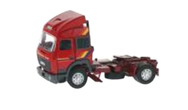 Old Cars 1/43 Iveco Turbo Star tractor Red (japan import): Amazon.es: Juguetes y juegos