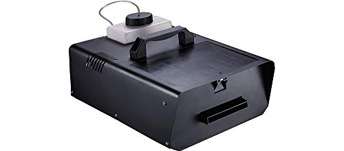 400W Ground Fog Machine with Alarm and Wired Remote, Halloween Decorations, Special Effects, Black, by Seasonal Visions