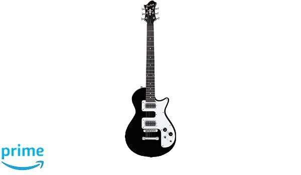 Guitarra eléctrica hagstorm metropolis c - negro: Amazon.es ...