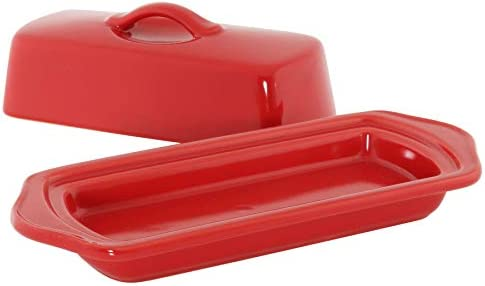 Chantal Butter Dish, True Red by Chantal