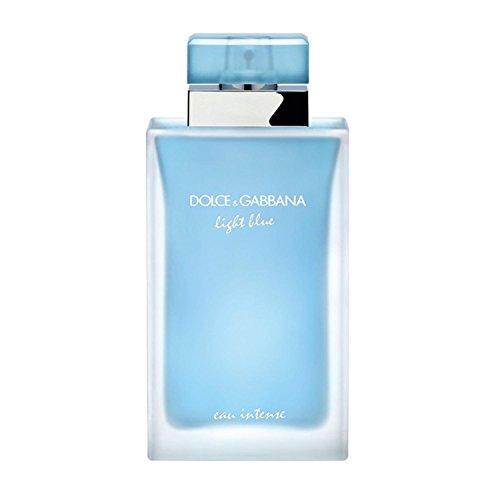 D & G Light Blue Eau Intense By Dolce & Gabbana For Women Eau De Parfum Spray 3.3 - D Light And Blue G