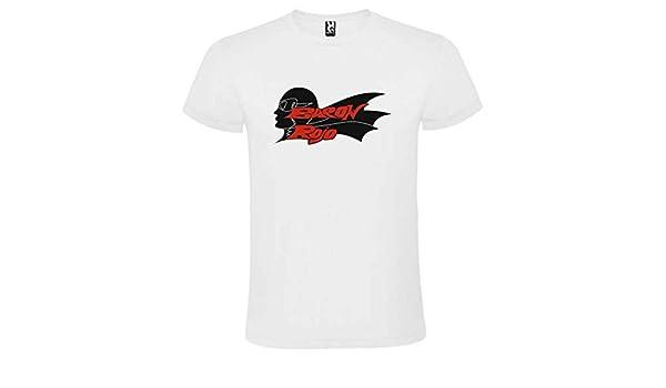 Camiseta Blanca Baron Rojo Logo Hombre Tallas S M L XL XXL XXXL 100% ALGODÓN Mangas Cortas (XXL): Amazon.es: Ropa y accesorios