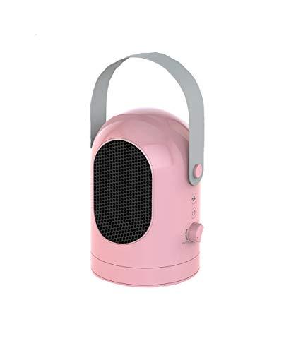 Calentador de ventilador eléctrico, calentador de ventilador oscilante de cerámica, calentador portátil de PTC, 600W...