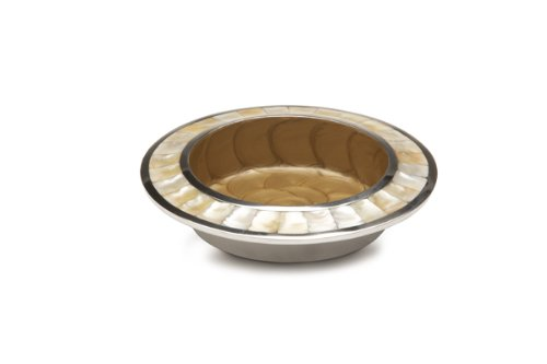 Julia Knight Classic Wine Coaster, 6-Inch, Toffee, Brown