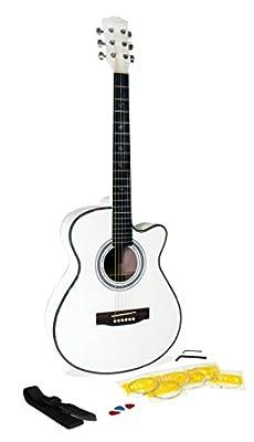 Martin Smith W-401E-BK Electro-acoustic Guitar Cutaway, Black