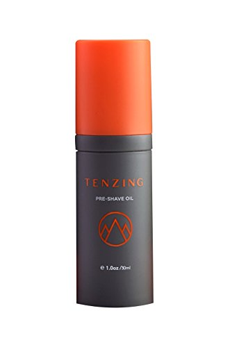 Tenzing Skincare Pre-Shave Oil - Natural, Organic Shaving Oil - Unscented Blend of 14 Oils - Pre-Shave Oil to Hydrate Skin & Soften Facial Hair - Pre-Shave Oil with Antioxidants - Stores Somerset At