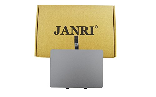 JANRI Replacement Trackpad Touchpad with Cable for MacBook Pro Unibody 13-inch Early mid Late 2009 2010 2011 2012 A1278 MB990LL/A MB991LL/A MC724LL/A MC374LL/A MC375LL/A MD102LL/A MC700LL/A -