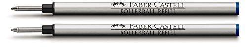 Graf Von Faber Castell Rollerball Pen Refill Blue (Pack of 2) by Graf von Faber-Castell