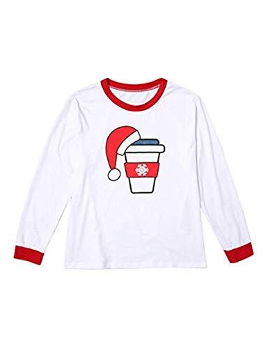 Nightwear Latte Caffè Birra Stampa zhbotaolang Set Natalizio Natale Baby Uomo Pigiama Padre Donna Mamma Figlio Abbigliamento Famiglia CxO6Pxqw