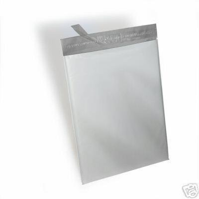 100 - 19x24 WHITE POLY MAILERS ENVELOPES BAGS 19 x 24 By ValueMailers (White) - White Poly Mailers Envelopes