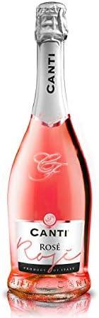 CANTI Spumante Cuvèe Rosa Vino Espumoso Italiano Extradry Seco - 1 Botella X 750ml