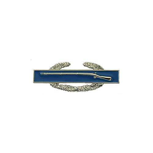 Combat Infantry 1st Award US Army Badge (Brite, Full Size) Award Combat Infantry Badge