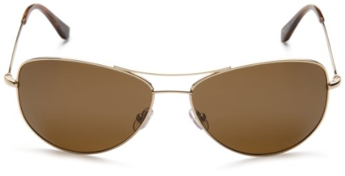 9d41e55bafe7 Kate Spade Women's Ally Polarized Aviator Sunglasses,Gold Frame/Brown  Lens,one size